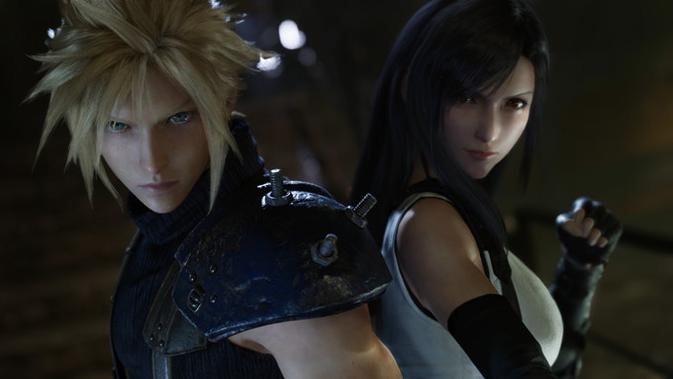 Final Fantasy VII Remake. (Doc: Square Enix)