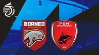 BRI Liga 1 - Bornero FC Vs PSM Makassar (Bola.com/Adreanus Titus)