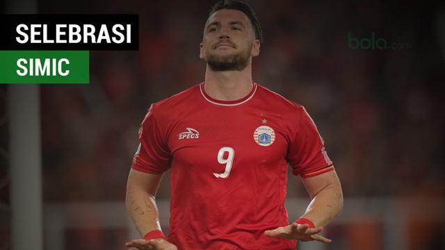 Berita video momen selebrasi menarik Marko Simic bersama Ramdani Lestaluhu saat Persija Jakarta menang 4-0 atas JDT di Piala AFC 2018, Selasa (10/4/2018).