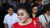 Mantan Ibu Negara Filipina, Imelda Marcos (AP PHOTO)