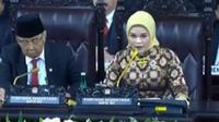 Anggota DPD termuda Jialyka Maharani (kanan). (Liputan6.com)
