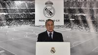 Presiden Real Madrid, Florentino Perez. (AFP/Gerard Julien)