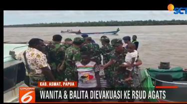 Personel TNI dan Polri terus mengirimkan makanan bergizi dan penanganan medis