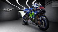Valentino Rossi mengaku belum sepenuhnya nyaman dengan tunggangan anyarnya, Yamaha YZR-M1 spesifikasi 2016.