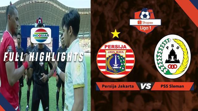 Berita video highlights Shopee Liga 1 2019 antara Persija Jakarta melawan PSS Sleman yang berakhir dengan skor 1-0, Rabu (3/7/2019).