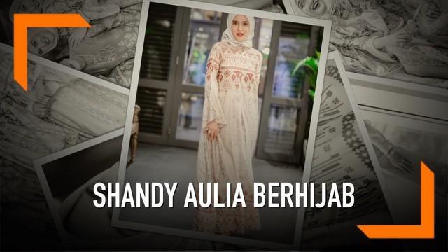 Shandy Aulia memilih bersikap terbuka dengan adanya perbedaan agama di keluarganya. Hal inilah yang mendasari keputusannya tampil berhijab saat menghadiri acara buka bersama keluarganya.