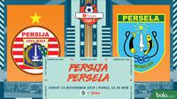 Shopee Liga 1 - Persija Jakarta Vs Persela Lamongan (Bola.com/Adreanus Titus)