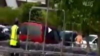 Wanita hamil tabrak pencuri di tempat parkir (Foto: Ist)