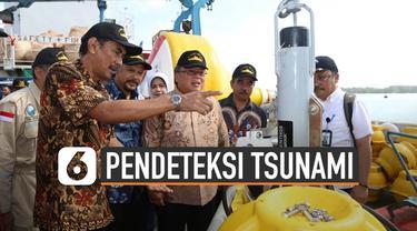 BPPT luncurkan alat deteksi dini Tsunami Buoy generasi terbaru. Alat itu akan dipasang di empat titik di Indonesia.