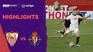 Berita Video Highlights La Liga, Sevilla Ditahan Imbang Real Valladolid 1-1