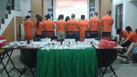 Imigrasi Bogor deportasi puluhan warga China yang terlibat kejahatan siber (Liputan6.com/Achmad Sudarno)