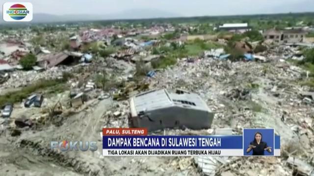 Warga yang kehilangan tempat tinggal akan disiapkan hunian sementara sambil menunggu pembangunan hunian tetap bagi korban gempa.
