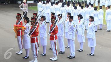 20150817-Presiden Jokowi Pimpin Upacara HUT RI ke-70 di Istana -Jakarta