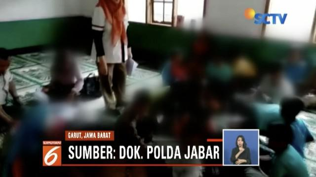 Tim dokter Polda Jawa Barat mendampingi 19 murid SD dan SMP di Garut, Jawa Barat, yang melakukan perilaku seksual menyimpang.