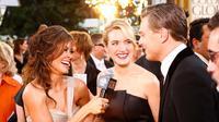 12 Hal Ini Tunjukkan Kedekatan Leonardo DiCaprio dan Kate Winslet. Sumber : glamourmagazine.co.uk.