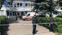 Tempat kejadian perkara terjadinya serangan di sekolah dasar Slovakia. (Source: Facebook)