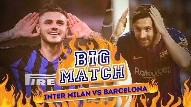 Inter Milan Vs Barcelona, Messi dkk Punya Rekor Buruk di Italia