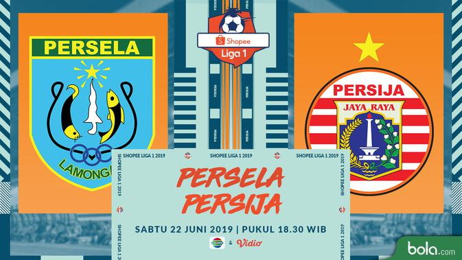 Saksikan Exclusive Live Streaming Indosiar: Persela vs Persija di Vidio 2