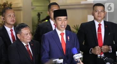 Usai Pelantikan Presiden, Jokowi Kembali ke Istana Merdeka