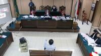 Sidang kasus penganiayaan Novel Baswedan di Pengadilan Negeri Jakarta Utara. (Istimewa)