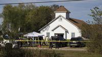 Penembakan Massal Meletus di Gereja Texas, 25 Orang Tewas (Nick Wagner/Austin American-Statesman via AP)