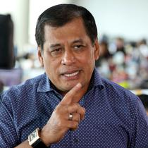 Calon Gubernur Sulawesi Selatan Nurdin Halid. (Liputan6.com/Johan Tallo)