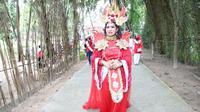 Memperingati Hari Kemerdekaan RI ke-75, BP Batam menggelar berbagai pertunjukan seni di Taman Rusa Sekupang, Batam. (Dok BP Batam)