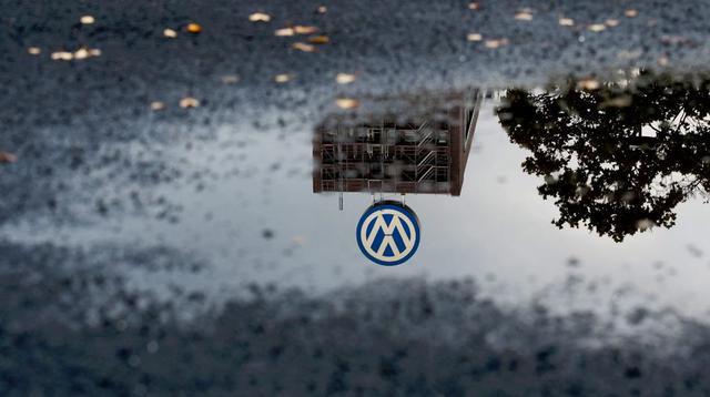 Logo Volkswagen (Foto: Julian Stratenschulte/EPA).