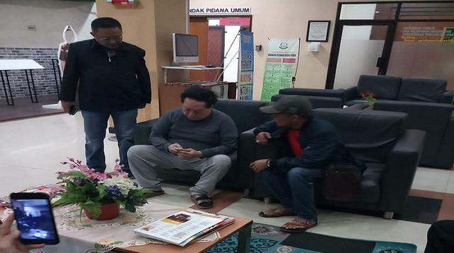 Kejagung menangkap buronan kasus korupsi lahan negara asal Kota Makassar (Liputan6.com/ Eka Hakim)