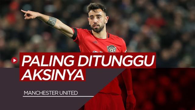 Vlog Bola.com 3 Pemain Manchester United yang Paling ditunggu Aksinya di Premier League, Termasuk Bruno Fernandes