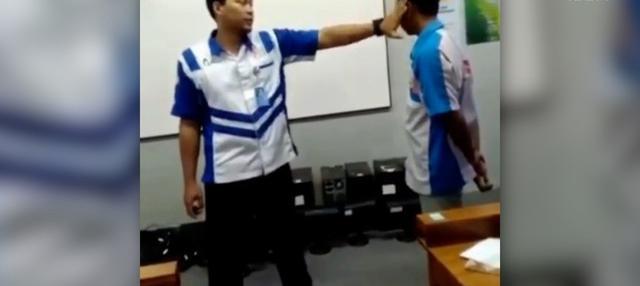 Tindakan kekerasan guru yang tampar murid terjadi di salah satu SMK di Purwokerto.