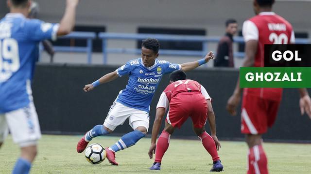 Berita video gol-gol Ghozali Siregar sementar ini untuk Persib Bandung pada Gojek Liga 1 2018 bersama Bukalapak.