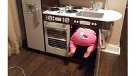 6 Kelakuan Kocak Saat Bocah di Dapur Ini Bikin Geleng Kepala (sumber: Brightside)