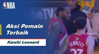 Berita video Kawhi Leonard layak menjadi pemain terbaik pada game 4 Final NBA 2019 antara Toronto Raptors melawan Golden State Warriors di Oracle Arena, Oakland, Sabtu (8/6/2019) pagi hari WIB.