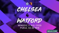 Premier League - Chelsea Vs Watford (Bola.com/Adreanus Titus)