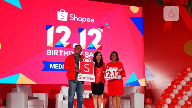 Rayakan Ulang Tahun, Shopee Gelar Festival Belanja 12.12. (Liputan6.com/ Andina Librianty)
