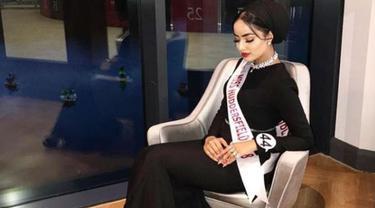 Perkenalkan, inilah Sarah Iftkehar, finalis pertama Miss England yang mengenakan kerudung. (Instagram/@saraiftekhar)