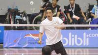 Pebulutangkis andalan Indonesia di Asian Para Games 2018. (Bola.com/Ronald Seger Prabowo)