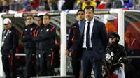 Carlos Dunga sakit hati dengan wasit yang memimpin pertandingan Brasil vs Peru. (Winslow Townson-USA TODAY Sports)