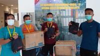 Paket  Stress Relief  ke RS Darurat Penanganan Covid-19 Wisma Atlet Jakarta. foto: istimewa
