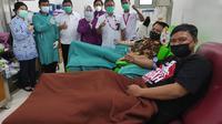 PMI Kota Tangerang dinilai sudah memenuhi standar untuk memproduksi plasma darah konvalesen. (Foto: Liputan6/Pramita Tristiawati)