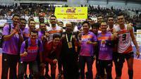 Jakarta BNI 46 menjuarai Final Four Proliga 2019. Mereka berhak atas hadiah Rp40 juta. (Bola.com/Gatot Susetyo)