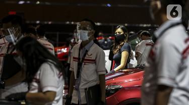 FOTO: Suasana Pameran Otomotif IIMS Hybrid 2021
