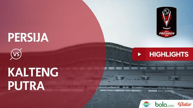 Berita video highlights perempat final Piala Presiden 2019 antara Persija Jakarta melawan Kalteng Putra yang berakhir dengan adu penalti dengan skor 3-4 setelah sebelumnya bermain 1-1.
