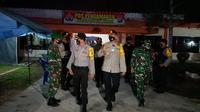 Kapolres Barsel AKBP Devy Firmansyah Bersama Dandim Letkol Inf. Dwi Tantomo. (Foto: Istimewa).