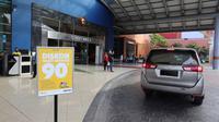 Aplikasi CariParkir tawarkan program diskon 90 persen valet parking di sejumlah mall. (Astra)