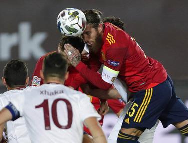 Spanyol Menang Tipis atas Swiss di UEFA Nations League