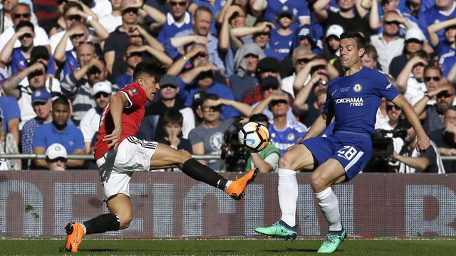 Manchester United, Chelsea,Piala FA 2018