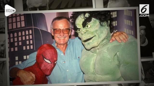 Tom Holland, Chris Evans, hingga Robert Downey Jr mengunggah ungkapan belasungkawa mereka tentang meninggalnya Stan Lee.