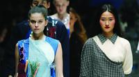 Inilah beberapa koleksi busana fashion yang terinspirasi dari teknologi smartphone di panggung JFW 2018. Sumber foto: image.net.